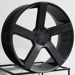 Milanni Wheels 472 Switchback Satin Black