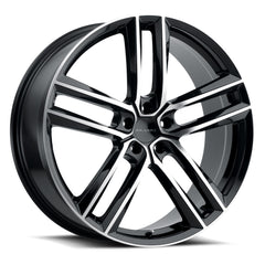 Milanni Wheels 475 Clutch Black Machined