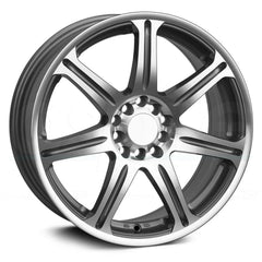 XXR Wheels 533 Silver Machined