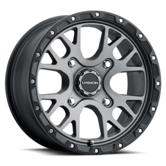 Vision ATV Wheels 545 Rocker Grey