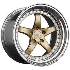 XXR Wheels 565 Hyper Gold Platinum Lip