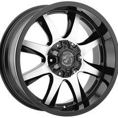 Panther Off Road Wheels 578 Black Machine