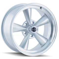 Ridler Wheels 675 Silver Machined Lip