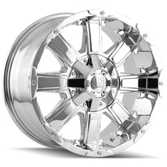 Mayhem Wheels 8030 Chaos Chrome