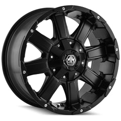 Mayhem Wheels 8030 Chaos Matte Black