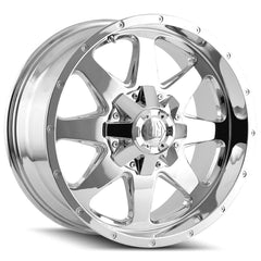 Mayhem Wheels 8040 Tank Chrome