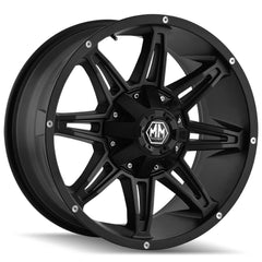 Mayhem Wheels 8090 Rampage Matte Black