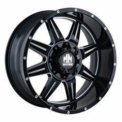Mayhem Wheels 8100 Monstir Gloss Black Milled