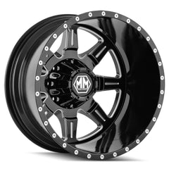 Mayhem Wheels 8101 Monstir Rear Black Milled