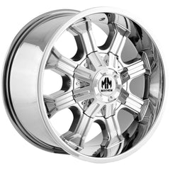 Mayhem Wheels 8102 Beast Chrome