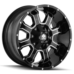 Mayhem Wheels 8103 Fierce Black Milled