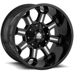 Mayhem Wheels 8105 Combat Black Milled