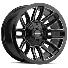 Mayhem Wheels 8108 Decoy Black Milled