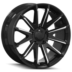Mayhem Wheels 8109 Crossfire Black Milled