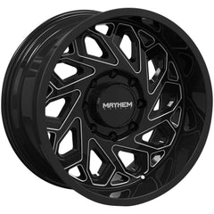 Mayhem Wheels 8112 Essex Black Milled