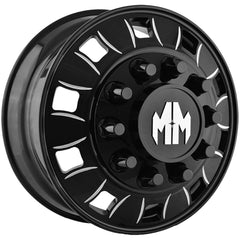 Mayhem Wheels 8180 Bigrig Front Black Milled