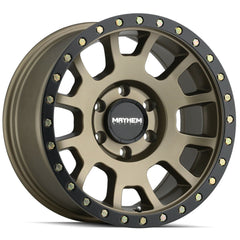 Mayhem Wheels 8302 Scout Gold Black