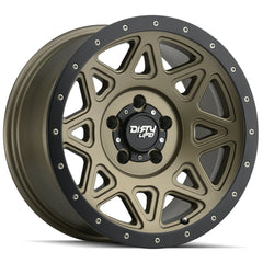 Dirty Life Wheels 9305 Theory Gold