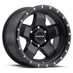 Raceline Wheels 937B Combat Satin Black