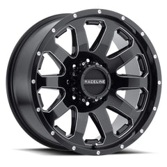 Raceline Wheels 938M Enforcer Black Milled