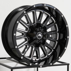 American Off-Road Wheels A105 Black Milled