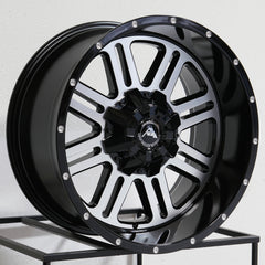 American Off-Road Wheels A106 Black Machined