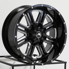 American Off-Road Wheels A106 Black Milled