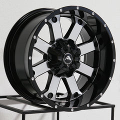 American Off-Road Wheels A108 Black Machined