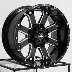 American Off-Road Wheels A108 Black Milled