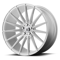 Asanti Black Wheels ABL-14 Polaris Brushed Silver