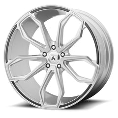 Asanti Black Wheels ABL-19 Athena Brushed Silver