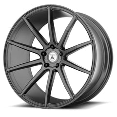 Asanti Black Wheels ABL-20 Aries Matte Graphite