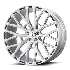 Asanti Black Wheels ABL-21 Leo Brushed Silver