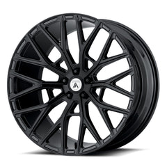 Asanti Black Wheels ABL-21 Leo Gloss Black