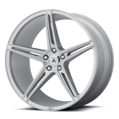 Asanti Black Wheels ABL-22 Alpha 5 Brushed Silver