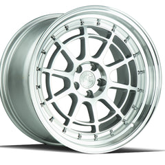 Aodhan Wheels AH04 Silver Machined Face