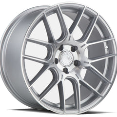 Aodhan Wheels AH-X Silver Machined