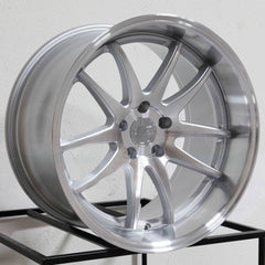 Aodhan Wheels DS02 Silver Machined Face