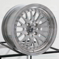 AVID1 Wheels AV12 Silver Machined