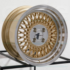 AVID1 Wheels AV18 Gold Machined Lip