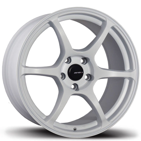 AVID1 Wheels AV26 White