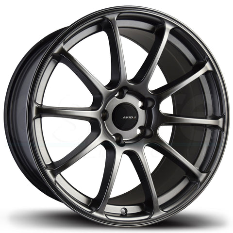 AVID1 Wheels AV27 Hyper Black