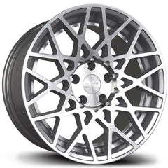 AVID1 Wheels AV36 Silver Machined