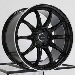 AVID1 Wheels AV40 Gloss Black
