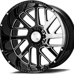 AXE Wheels AX2.0 Gloss Black Milled
