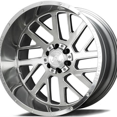 AXE Wheels AX2.1 Silver Brush Milled