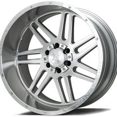 AXE Wheels AX3.1 Silver Brush Milled