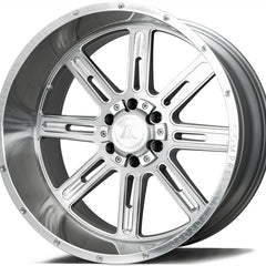 AXE Wheels AX4.1 Silver Brush Milled