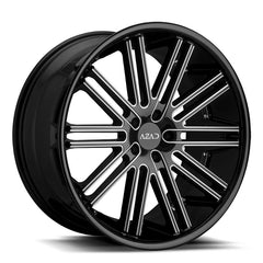Azad Wheels AZ22 Black Milled