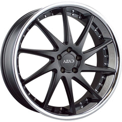 Azad Wheels AZ23 Black Chrome Lip